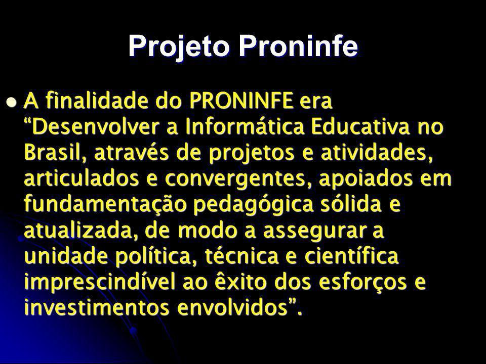 Projeto Proninfe