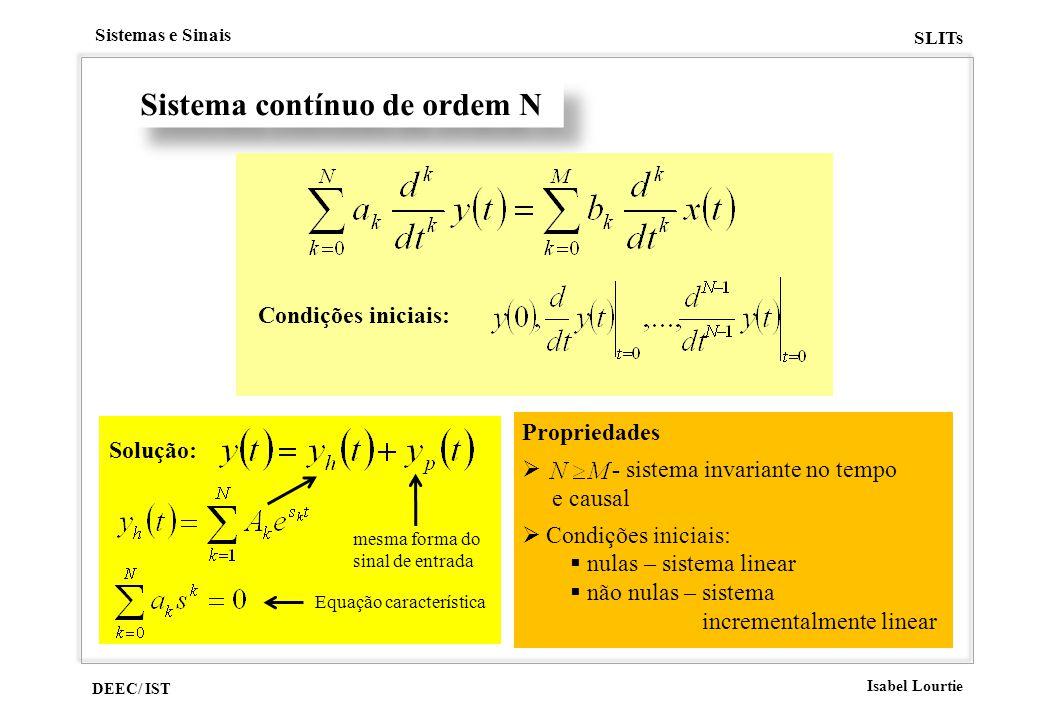 Sistema contínuo de ordem N