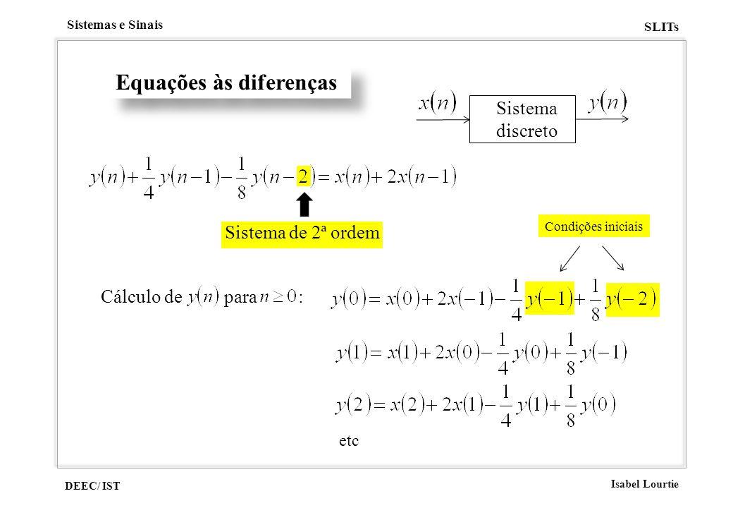 Equações às diferenças