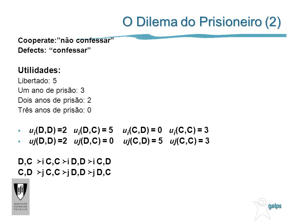 O Dilema do Prisioneiro (2)