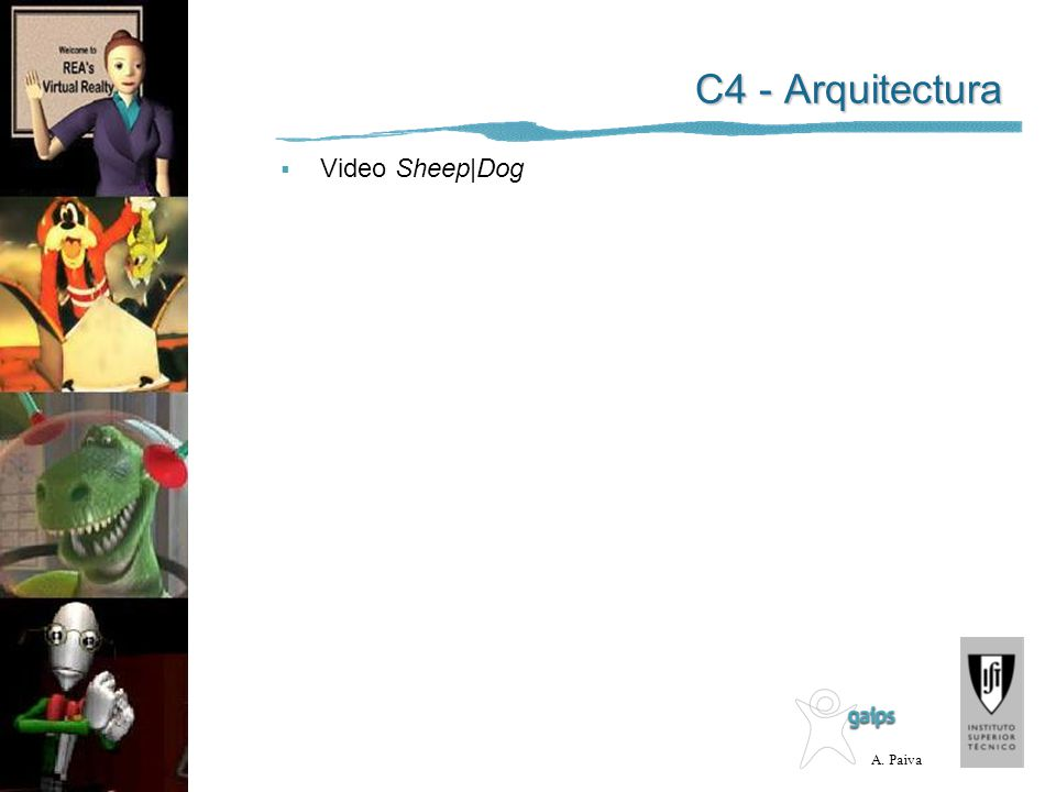C4 - Arquitectura Video Sheep|Dog