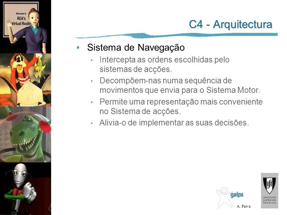 C4 - Arquitectura Sistema de Navegação