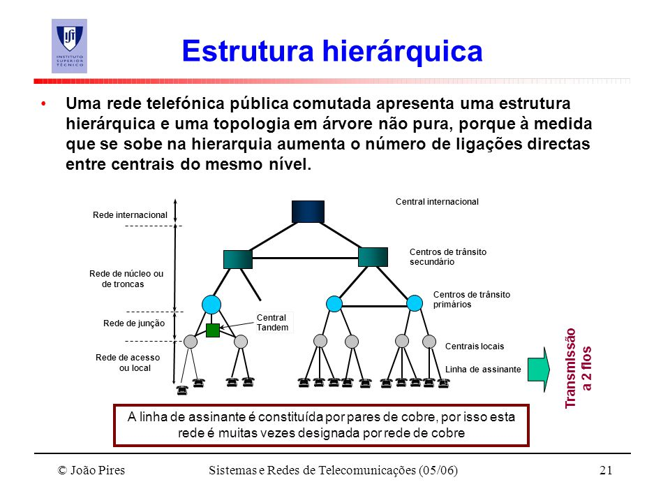 Estrutura hierárquica
