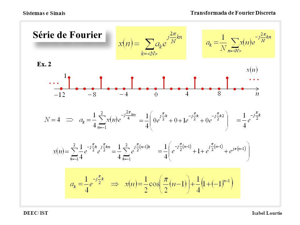 Série de Fourier Ex. 2 …