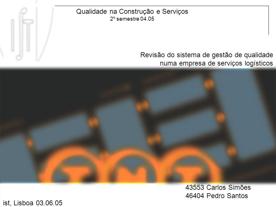 Qualidade na Construção e Serviços