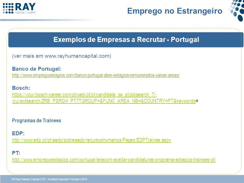 Emprego no Estrangeiro
