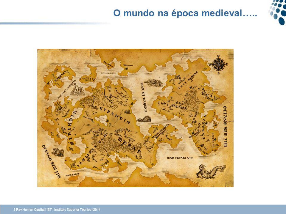 O mundo na época medieval…..
