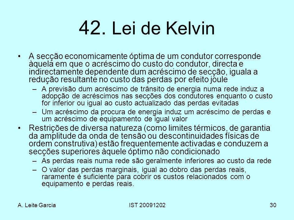 42. Lei de Kelvin