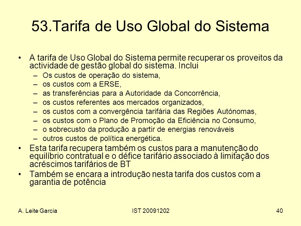 53.Tarifa de Uso Global do Sistema