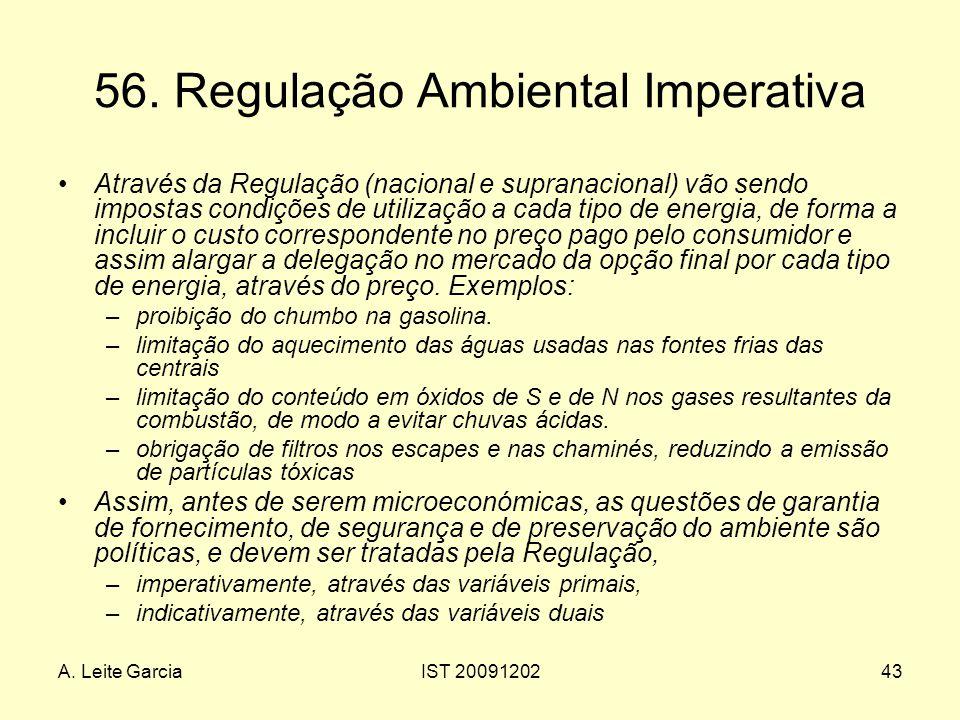 56. Regulação Ambiental Imperativa