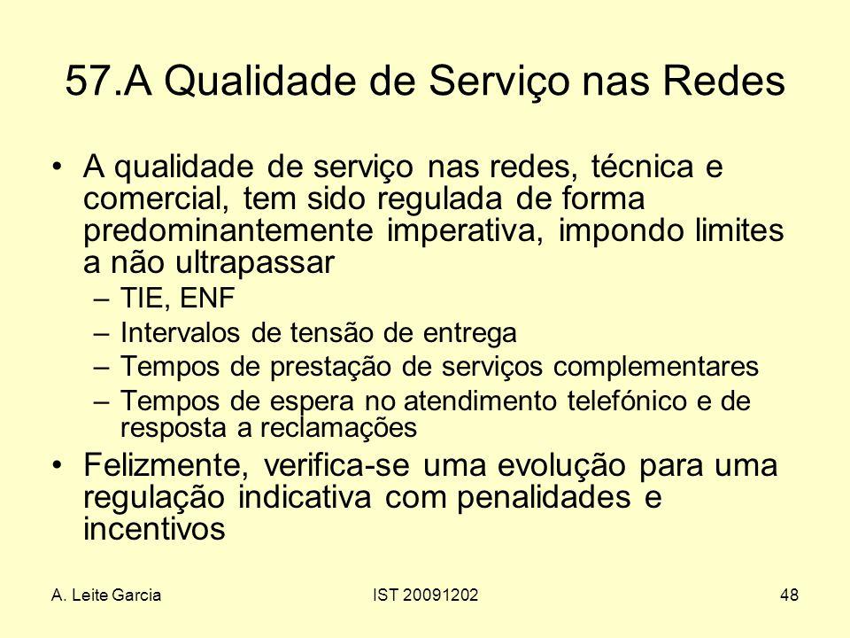 57.A Qualidade de Serviço nas Redes