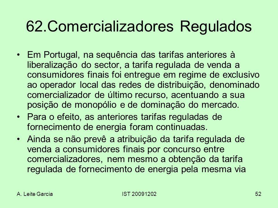 62.Comercializadores Regulados