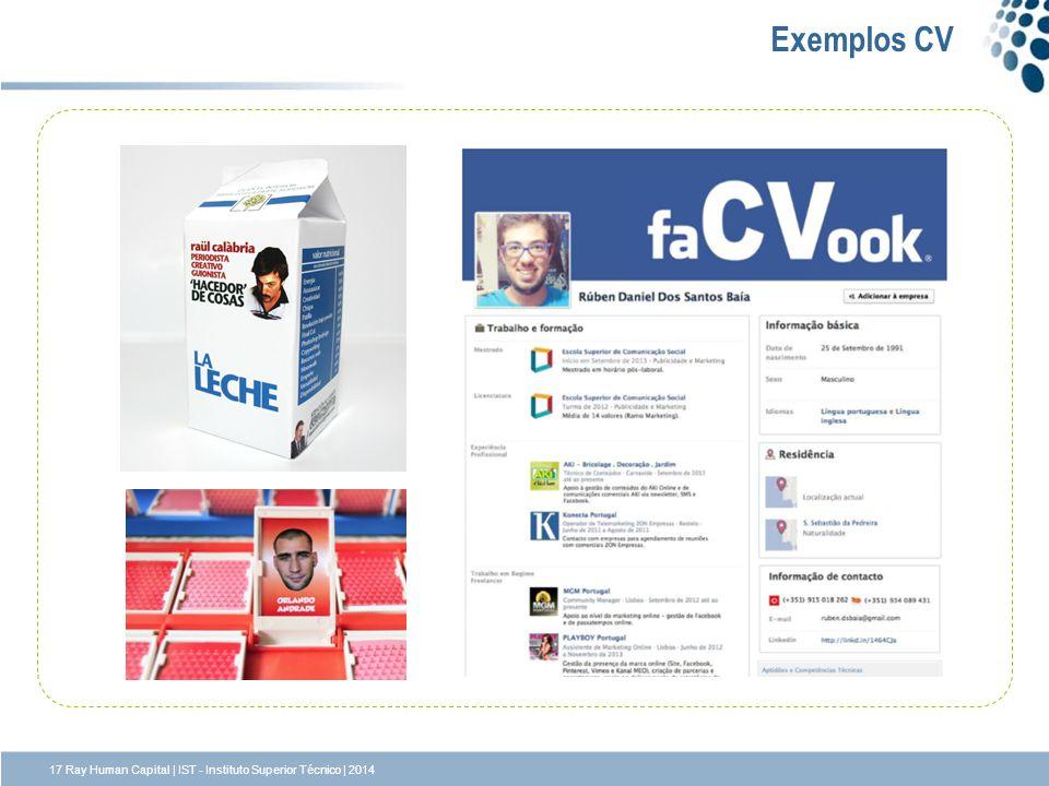 Exemplos CV