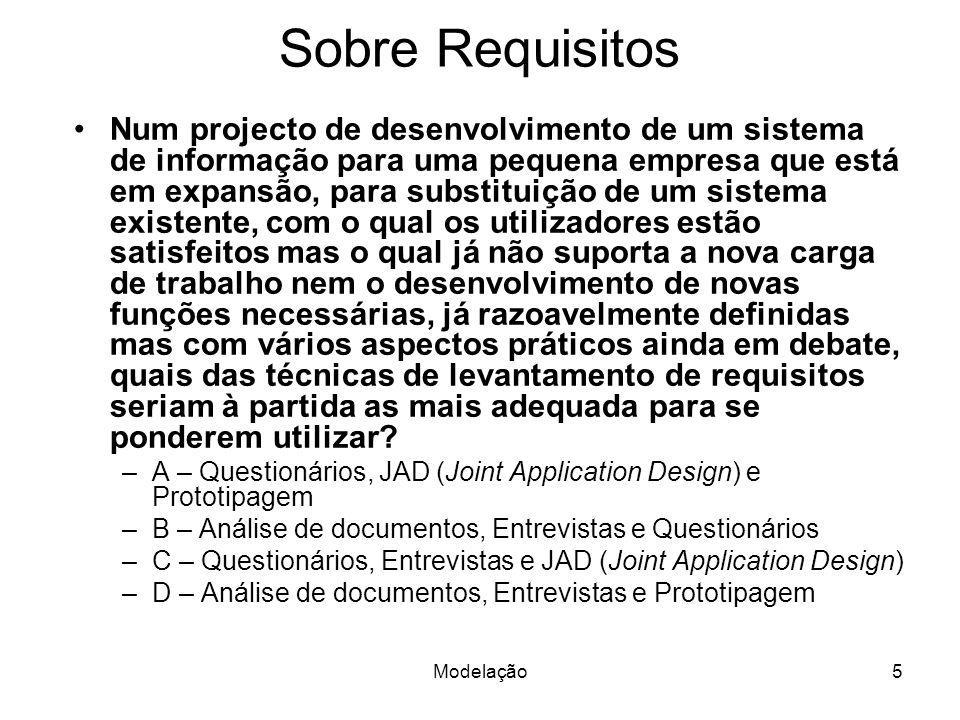 Sobre Requisitos