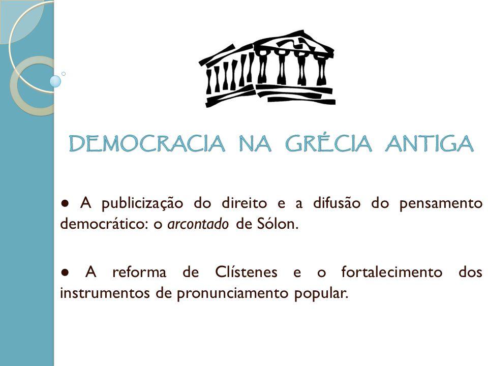 DEMOCRACIA NA GRÉCIA ANTIGA