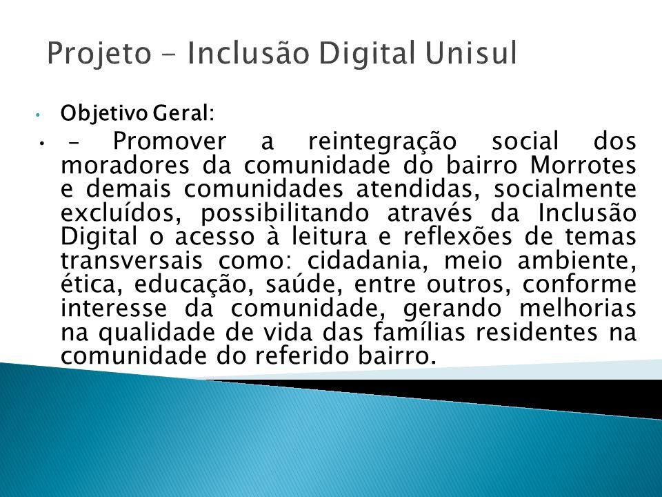 Projeto - Inclusão Digital Unisul