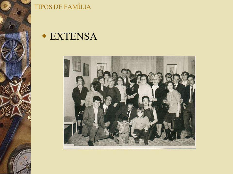 TIPOS DE FAMÍLIA EXTENSA