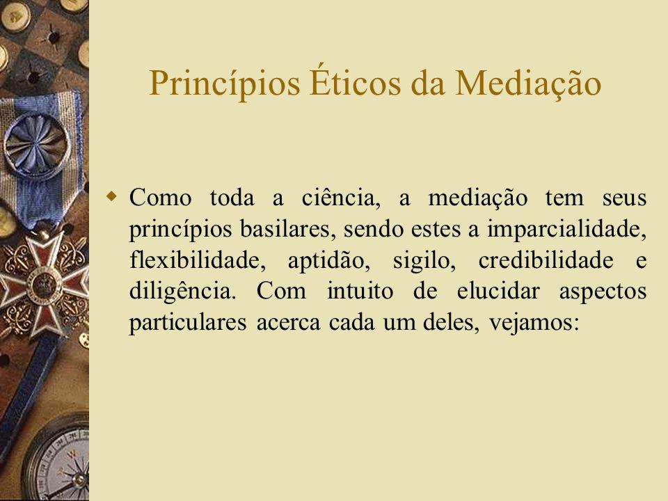 Princípios Éticos da Mediação