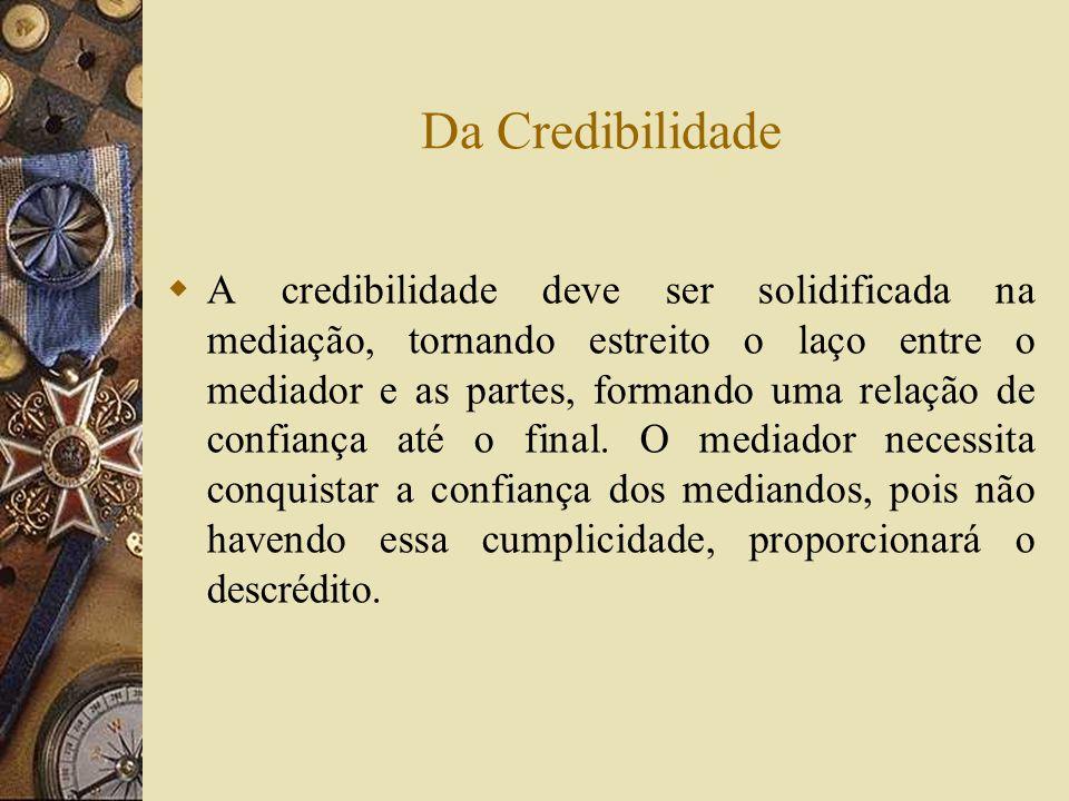 Da Credibilidade