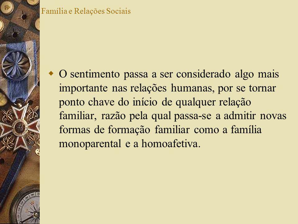 Família e Relações Sociais