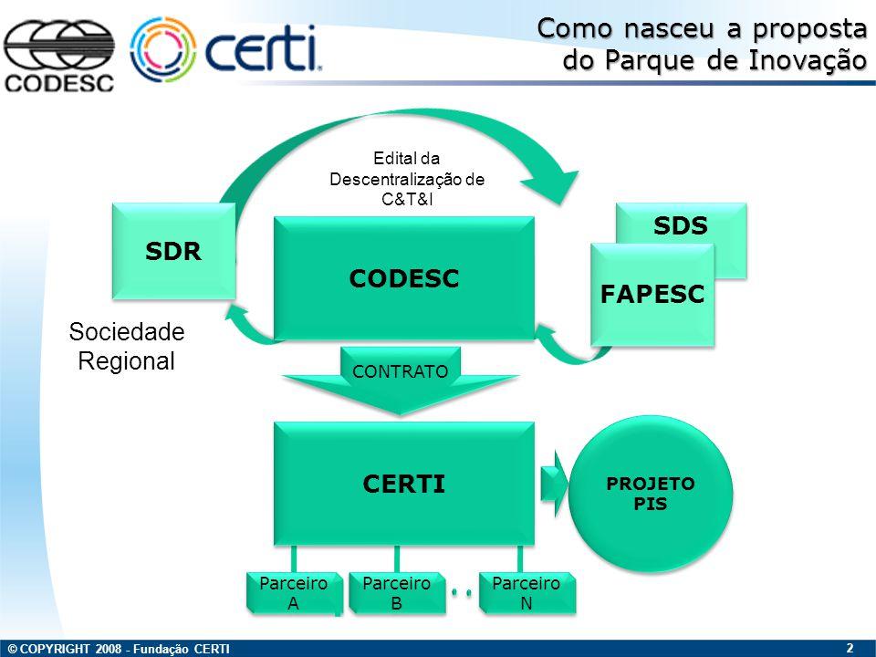 Edital da Descentralização de C&T&I