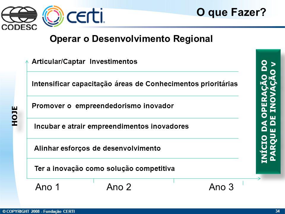 INÍCIO DA OPERAÇÃO DO PARQUE DE INOVAÇÃO v