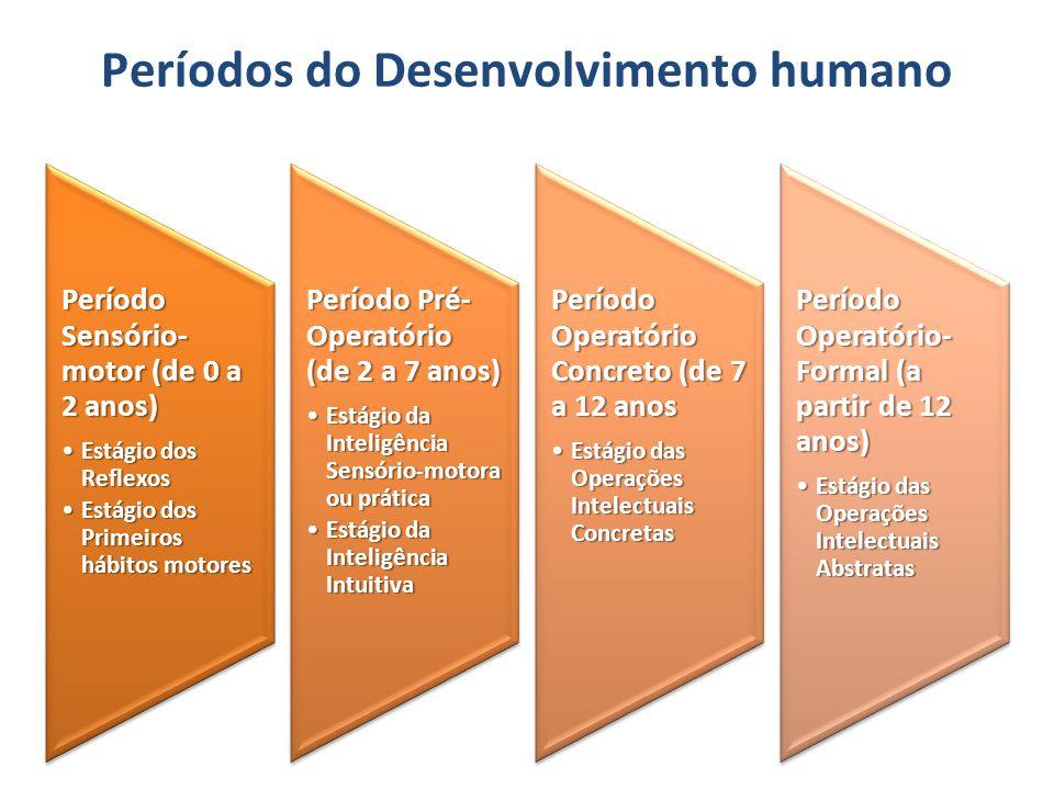 Períodos do Desenvolvimento humano