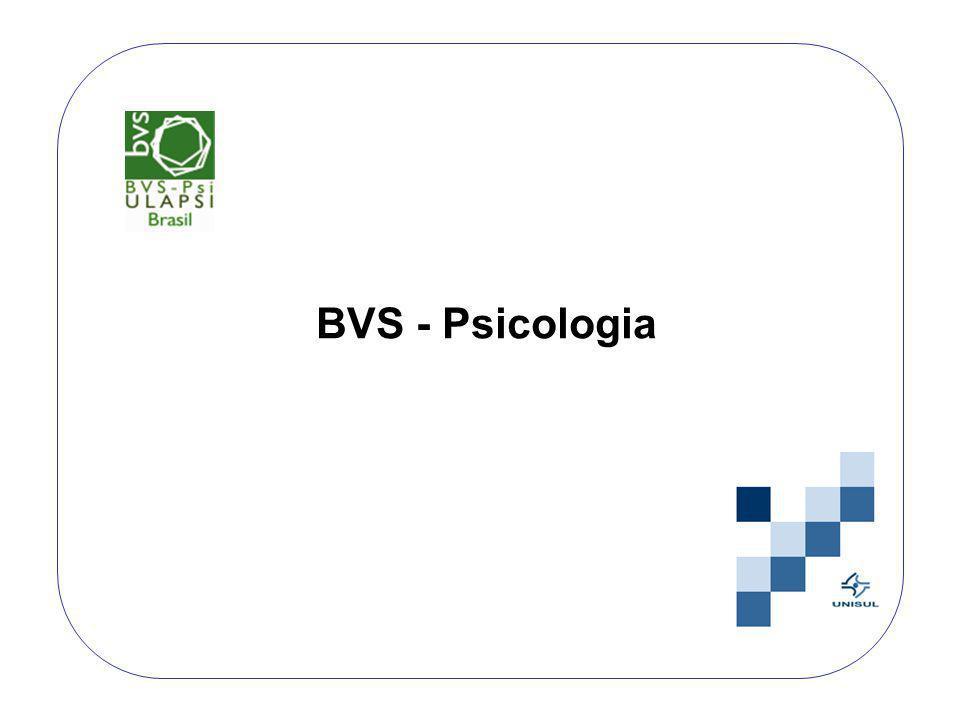 BVS - Psicologia