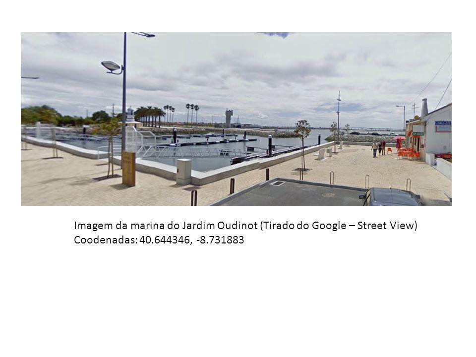Imagem da marina do Jardim Oudinot (Tirado do Google – Street View)