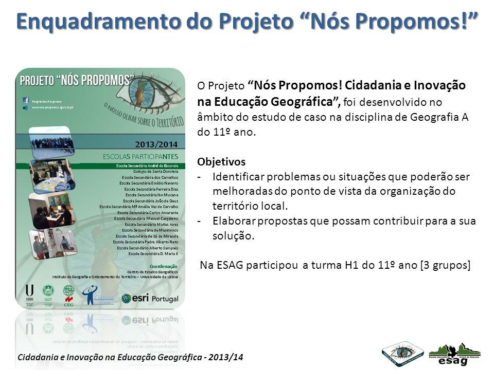 Enquadramento do Projeto Nós Propomos!