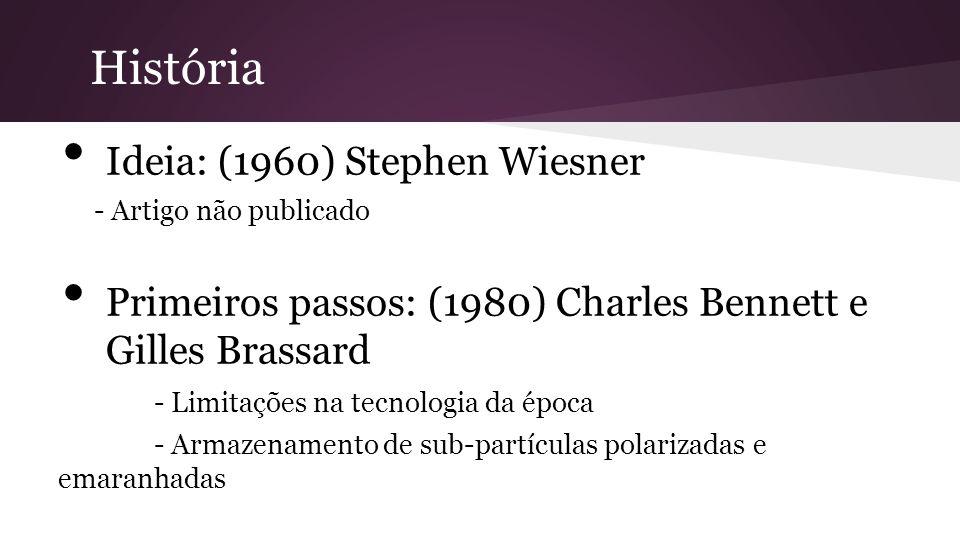 História Ideia: (1960) Stephen Wiesner