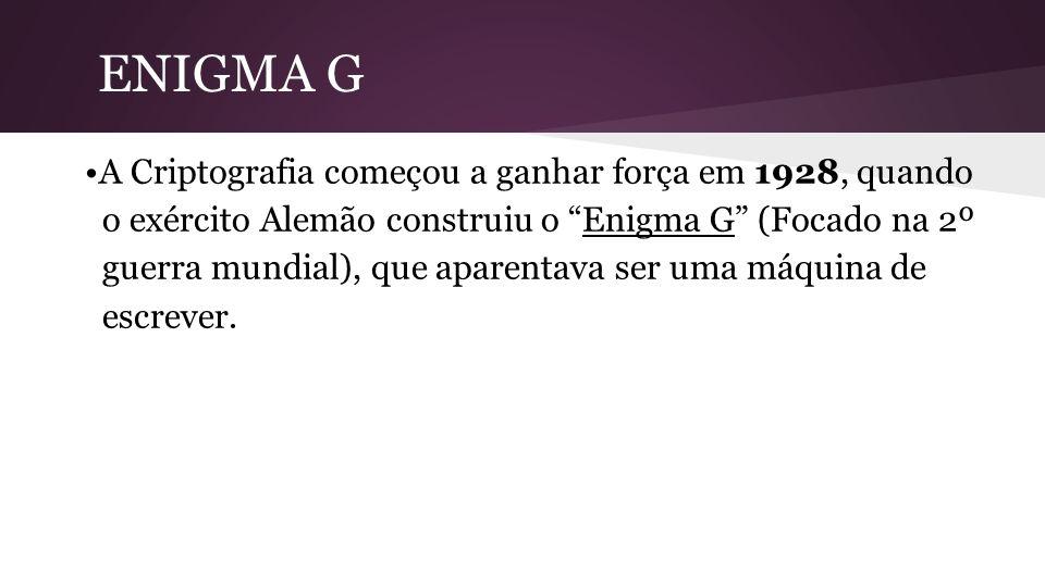 ENIGMA G