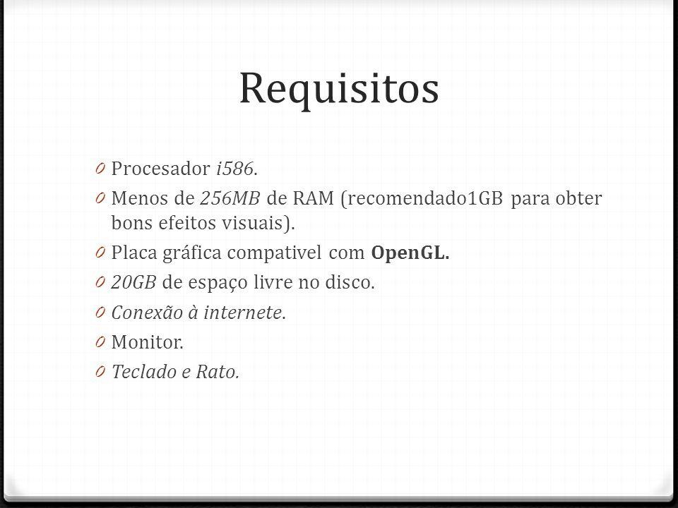 Requisitos Procesador i586.
