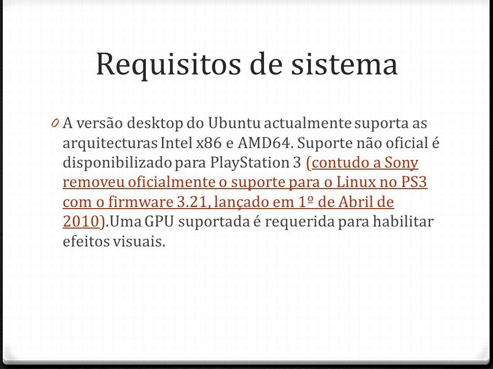 Requisitos de sistema