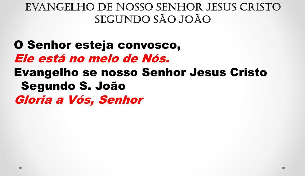 Evangelho de Nosso Senhor Jesus Cristo segundo São João