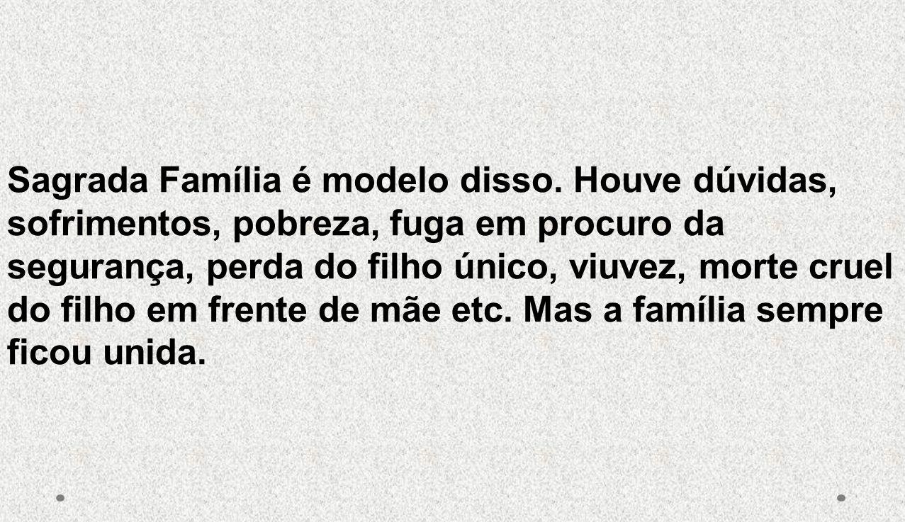 Sagrada Família é modelo disso