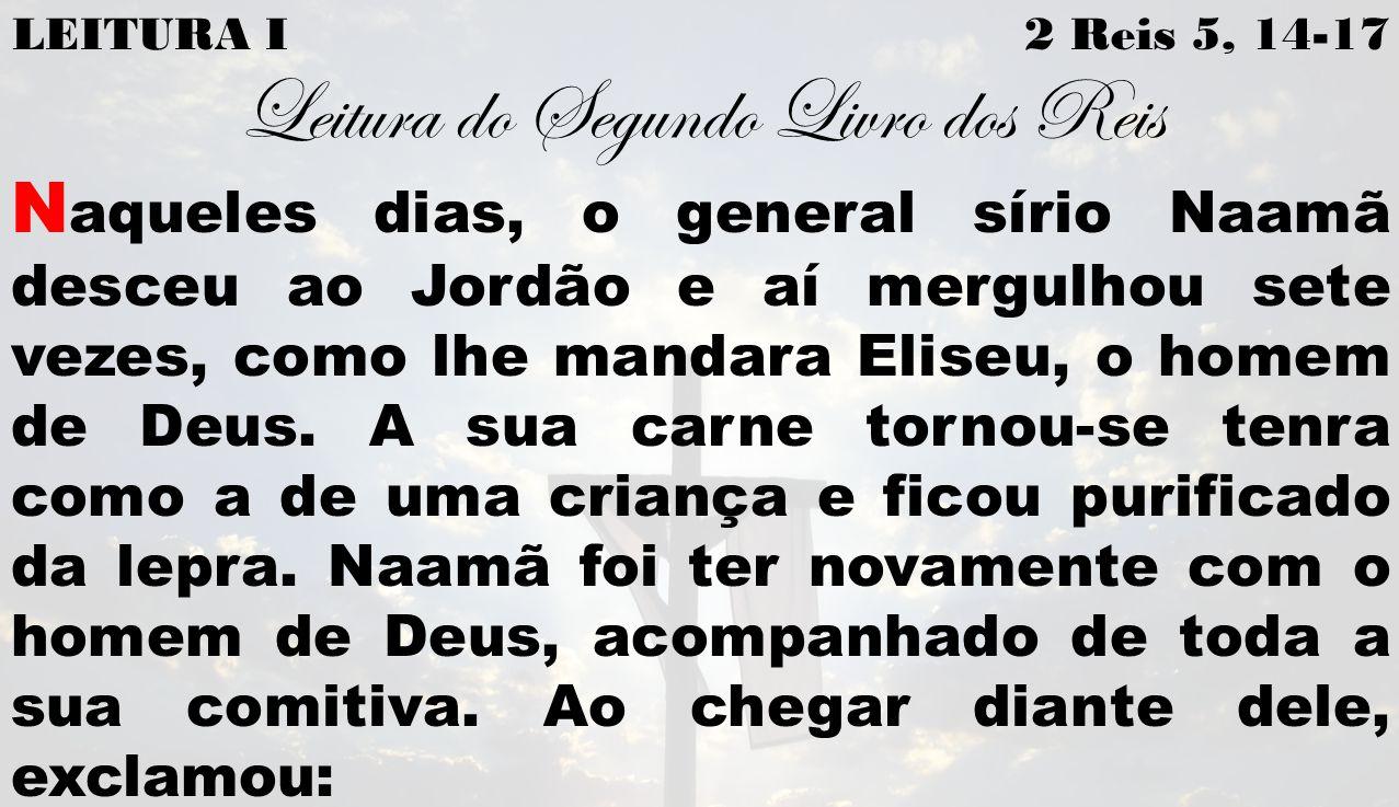 Leitura do Segundo Livro dos Reis