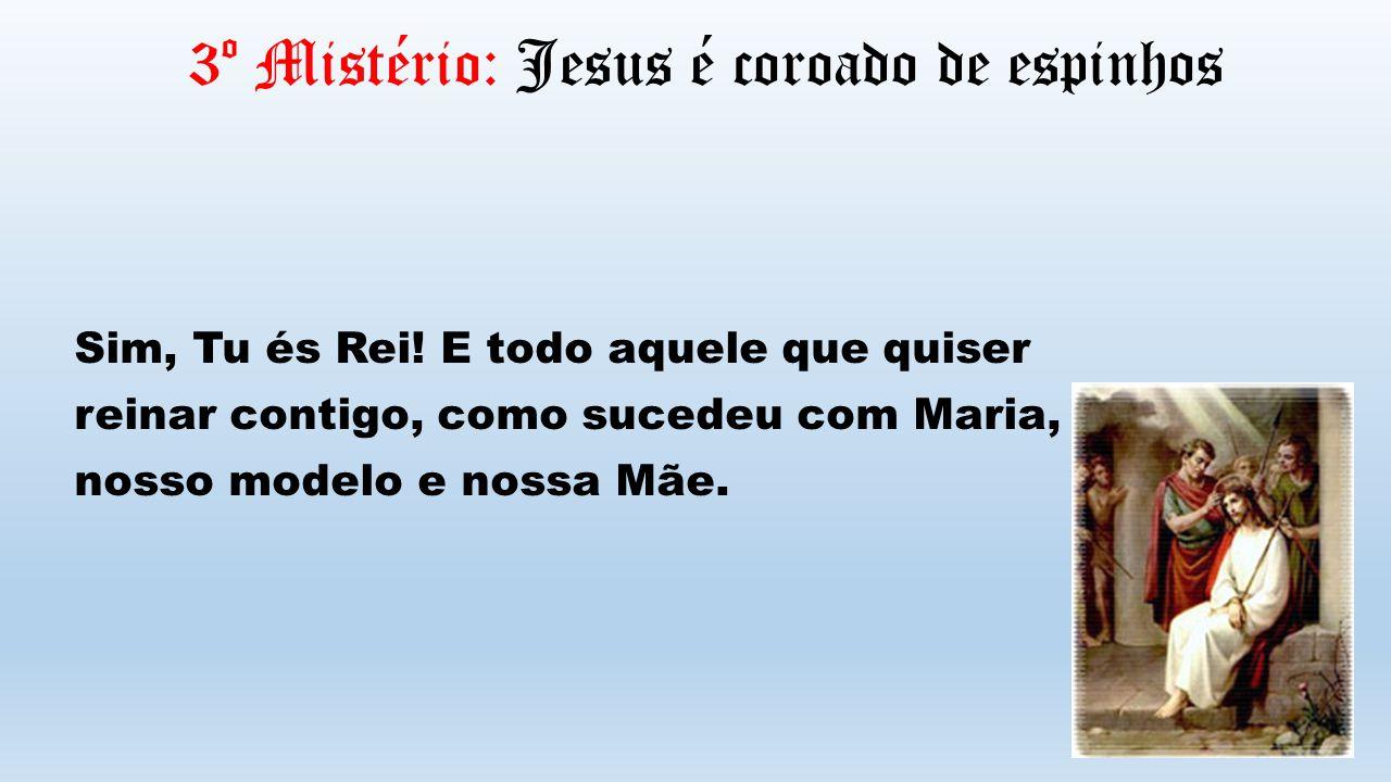 3º Mistério: Jesus é coroado de espinhos