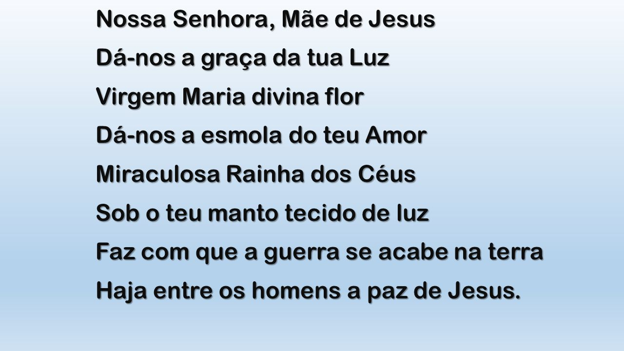 Nossa Senhora, Mãe de Jesus