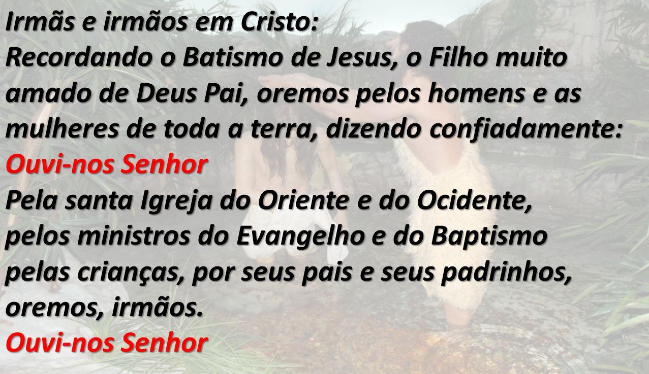 Irmãs e irmãos em Cristo:
