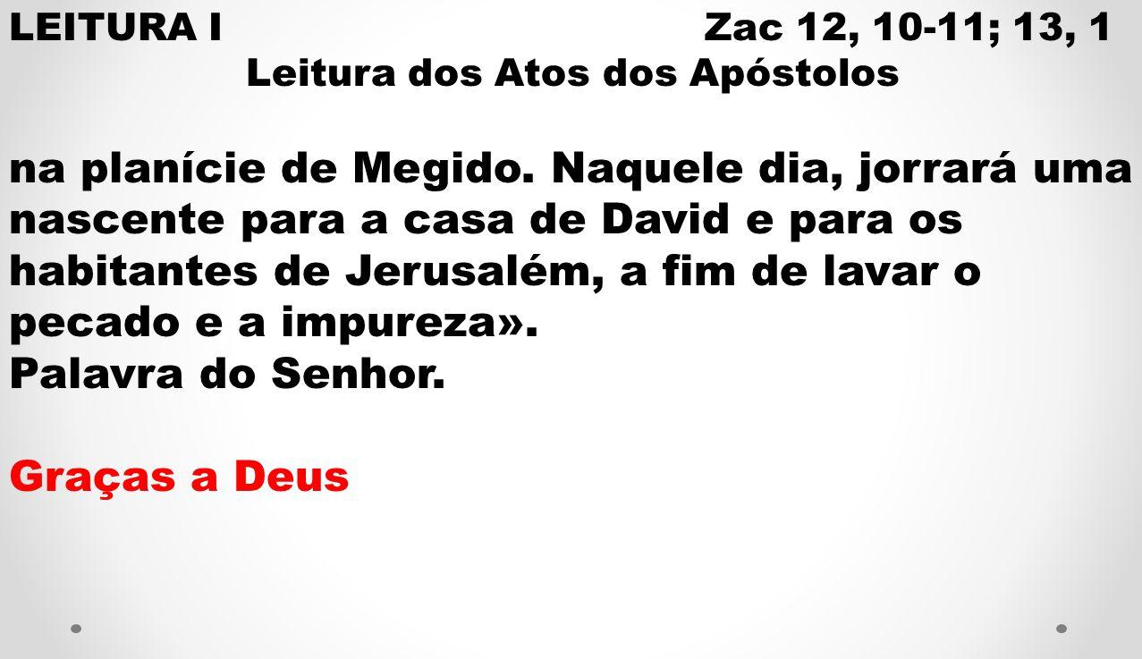 Leitura dos Atos dos Apóstolos