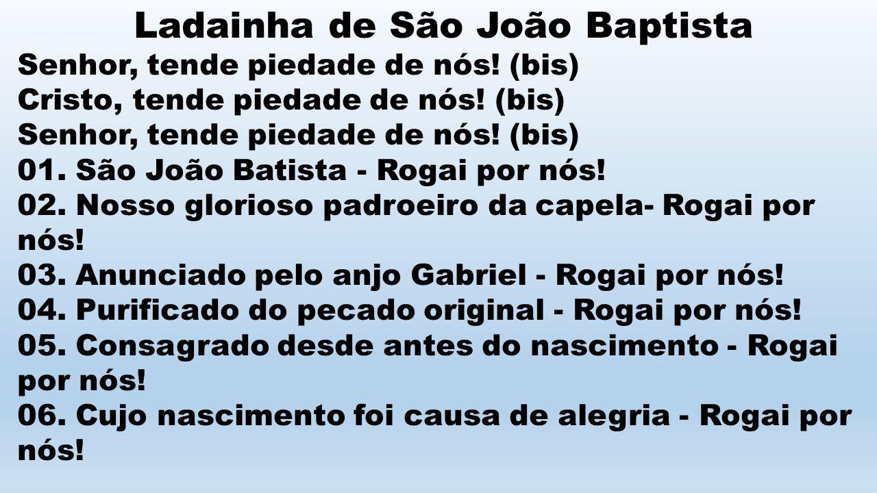 Ladainha de São João Baptista