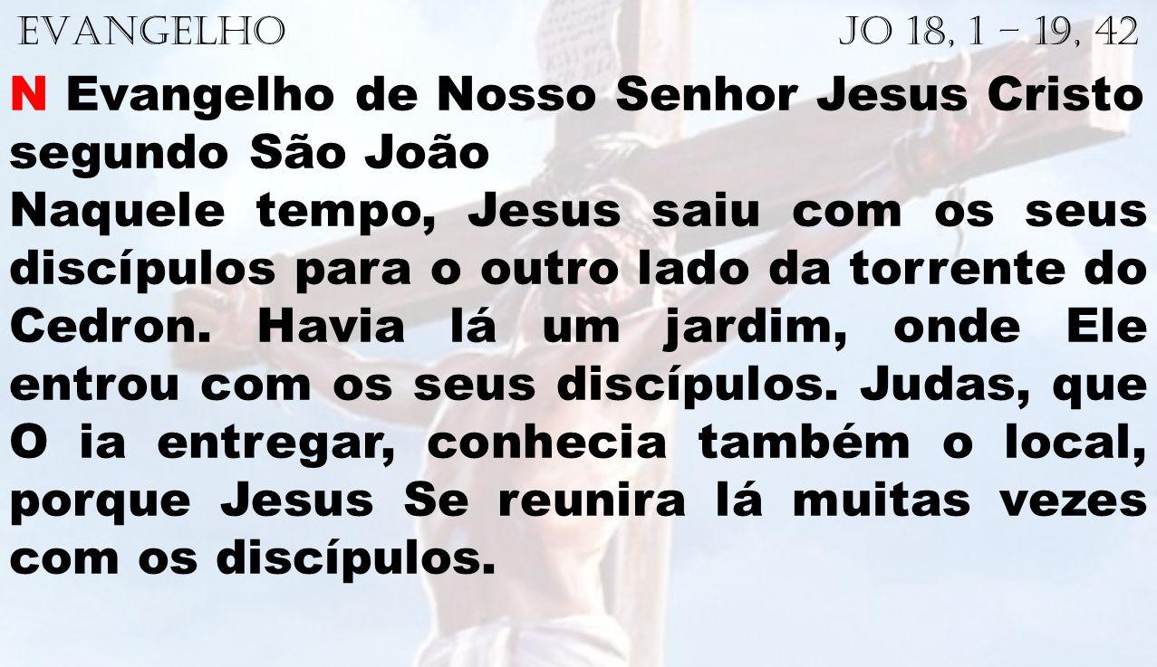 N Evangelho de Nosso Senhor Jesus Cristo segundo São João