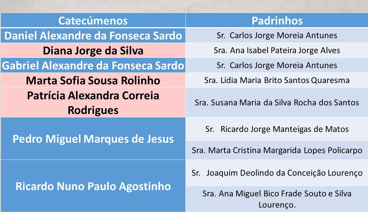 Daniel Alexandre da Fonseca Sardo Diana Jorge da Silva