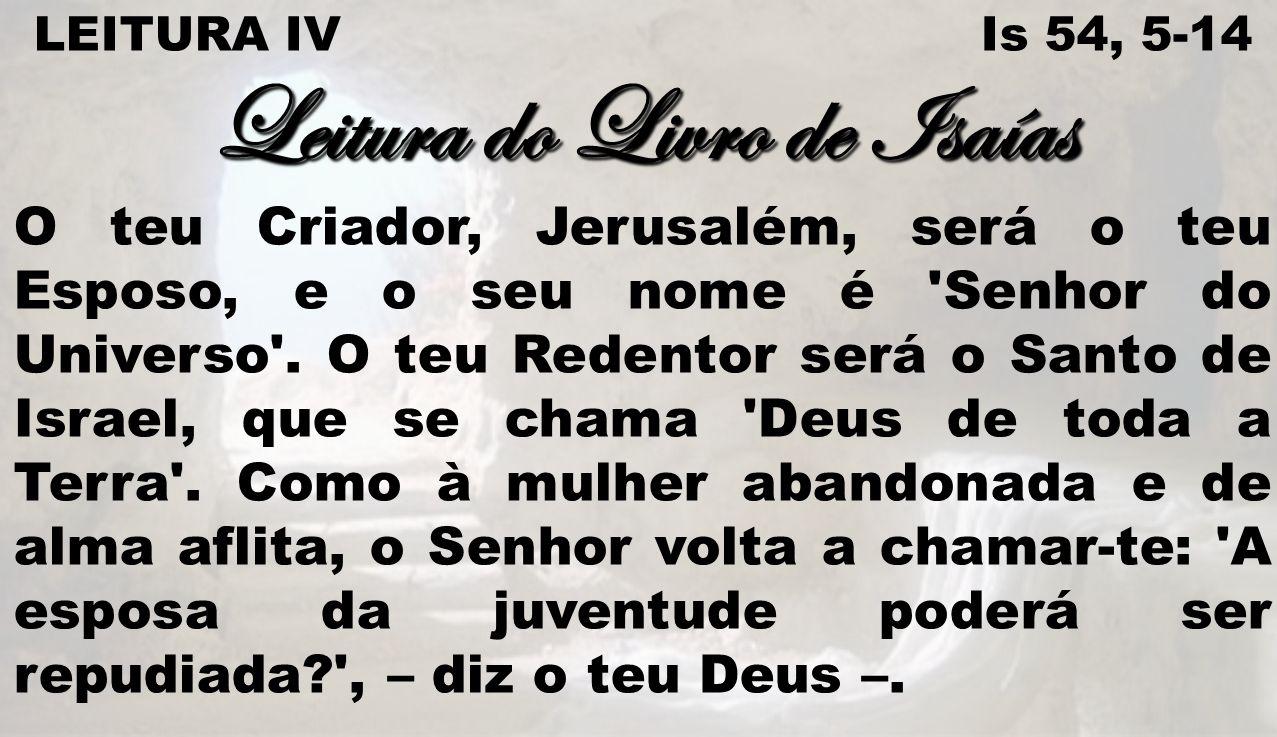 Leitura do Livro de Isaías
