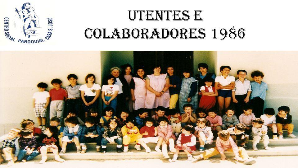 Utentes e Colaboradores 1986