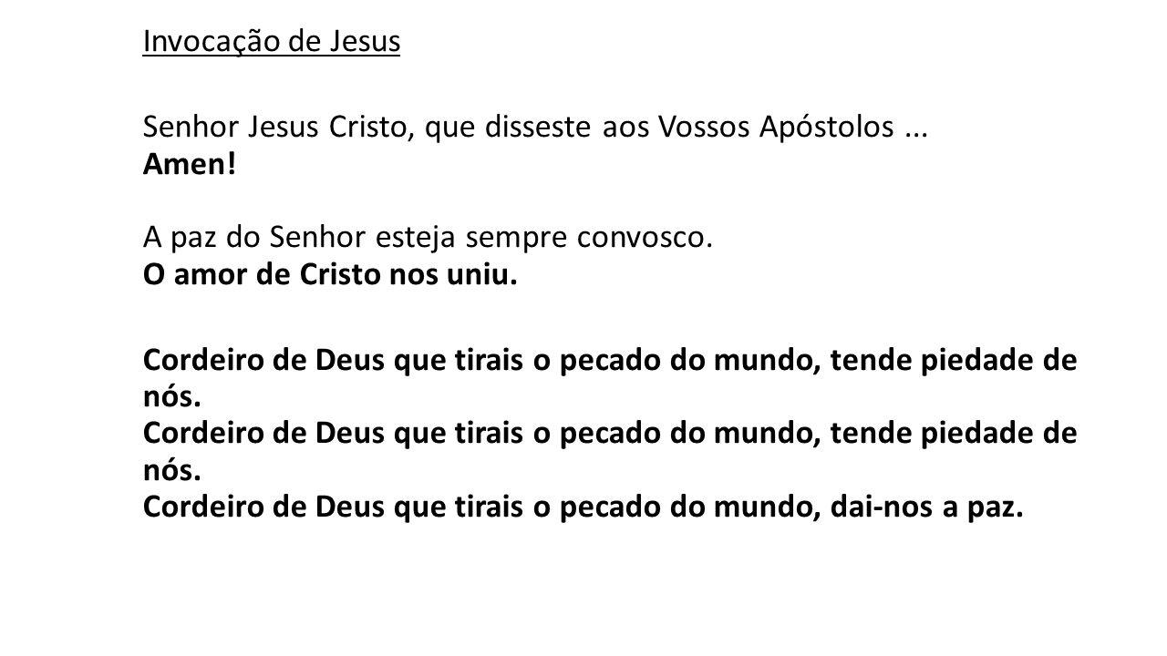 Invocação de Jesus
