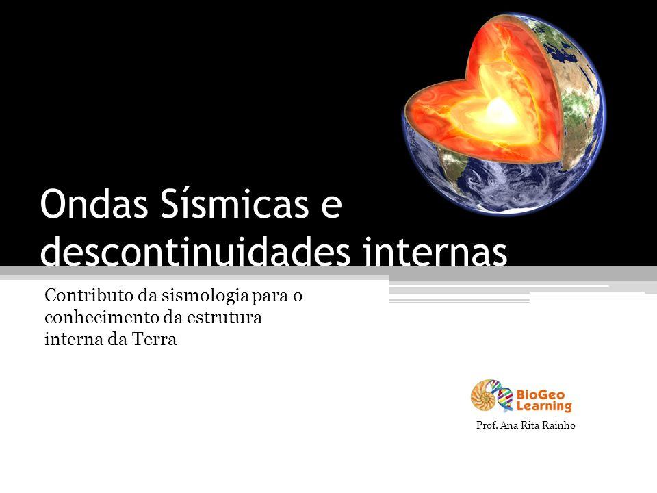 Ondas Sísmicas e descontinuidades internas