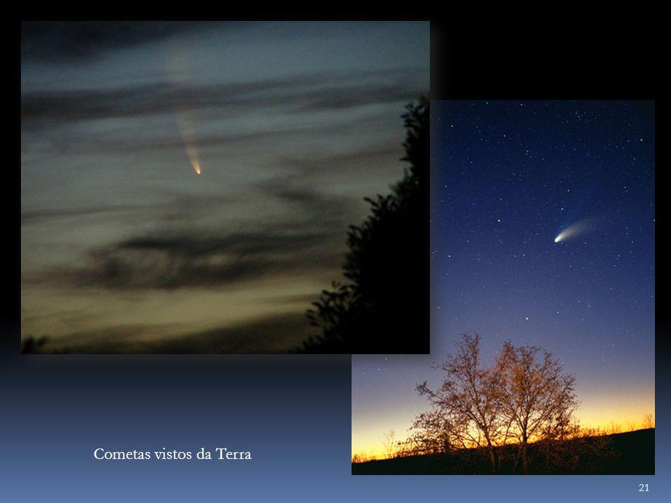 Cometas vistos da Terra