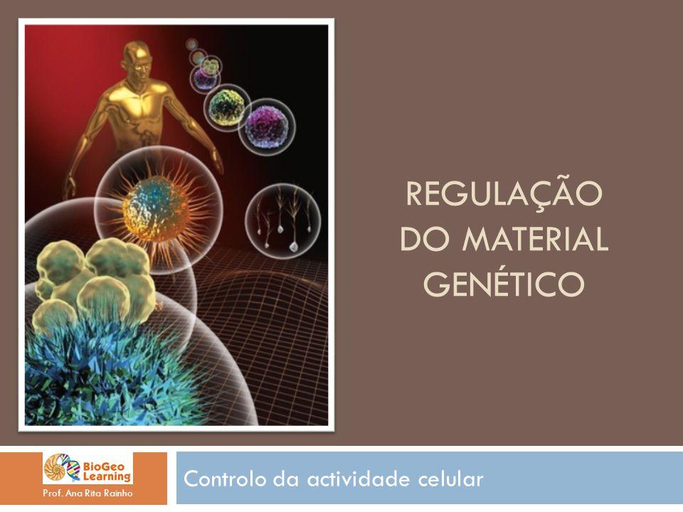Regulação do material Genético
